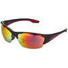 UVEX blaze lll Glasses black red